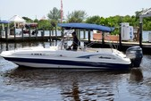 24 ft. Hurricane Boats FD 231 Deck Boat Boat Rental Tampa Image 3