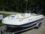 24 ft. Hurricane Boats FD 231 Deck Boat Boat Rental Tampa Image 6
