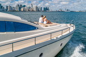 69 ft. Aicon 64 Flybridge Motor Yacht Boat Rental Miami Image 6