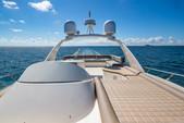 69 ft. Aicon 64 Flybridge Motor Yacht Boat Rental Miami Image 1