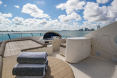 69 ft. Aicon 64 Flybridge Motor Yacht Boat Rental Miami Image 3