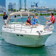 45 ft. Sea Ray Boats 410 Express Cruiser Motor Yacht Boat Rental Miami Image 15