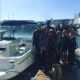 24 ft. Monterey Boats 240 Explorer Deck Boat Boat Rental Los Angeles Image 11