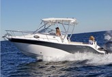 25 ft. Sea Fox 256 Voyager Cruiser Boat Rental Miami Image 1