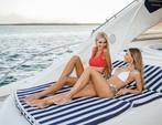 65 ft. princess V65 Express Cruiser Boat Rental Miami Image 21
