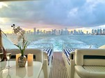 65 ft. princess V65 Express Cruiser Boat Rental Miami Image 22
