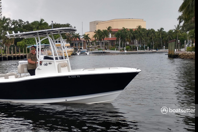 Rent a NauticStar Boats center console in Fort Lauderdale, FL near me