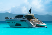 58 ft. Azimut Yachts 58 Atlantis Cruiser Boat Rental East End Image 1