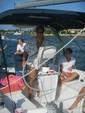44 ft. Hunter Passage 450 46' Sloop Boat Rental New York Image 9
