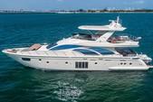 75 ft. Azimut Yachts 78 Flybridge Boat Rental Miami Image 3
