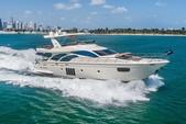 75 ft. Azimut Yachts 78 Flybridge Boat Rental Miami Image 11