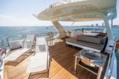 75 ft. Azimut Yachts 78 Flybridge Boat Rental Miami Image 18