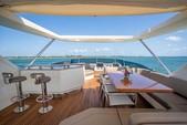 75 ft. Azimut Yachts 78 Flybridge Boat Rental Miami Image 7