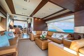 75 ft. Azimut Yachts 78 Flybridge Boat Rental Miami Image 4
