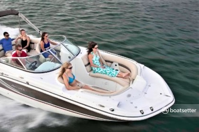 Rent a Hurricane Boats deck boat in Center Moriches, NY near me