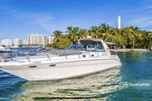 44 ft. Sea Ray Boats 420 Aft Cabin Cruiser Boat Rental Miami Image 1