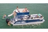 25 ft. Avalon Pontoons 25' LS Quad Lounge High Perf. TT Pontoon Boat Rental Fort Myers Image 2
