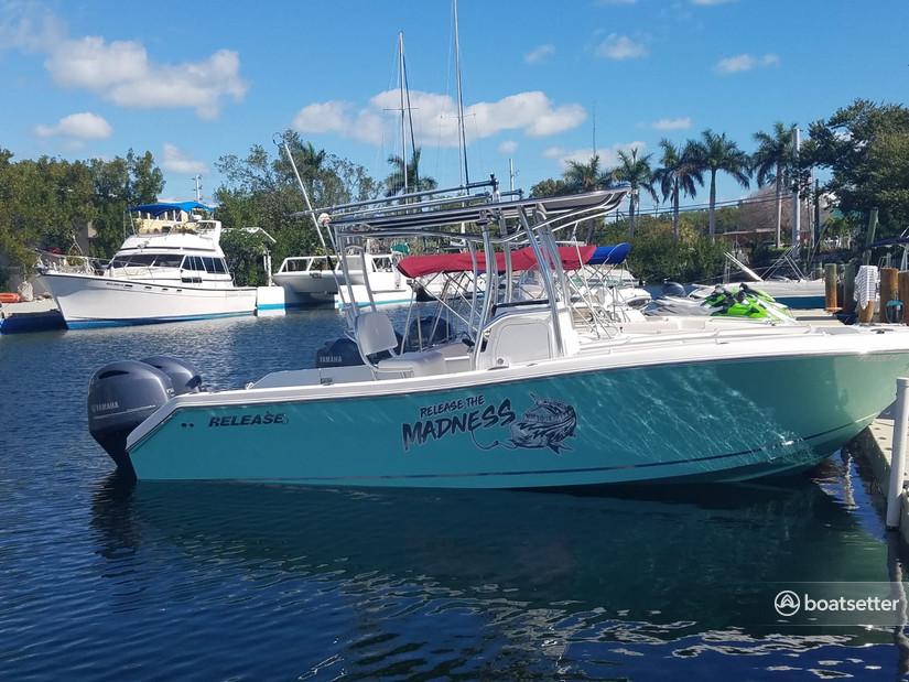 Rent a Release Boats center console in Islamorada, FL near me