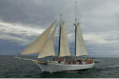 80 ft. Sail Boat  Classic Boat Rental The Keys Image 1