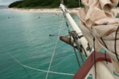 80 ft. Sail Boat  Classic Boat Rental The Keys Image 3