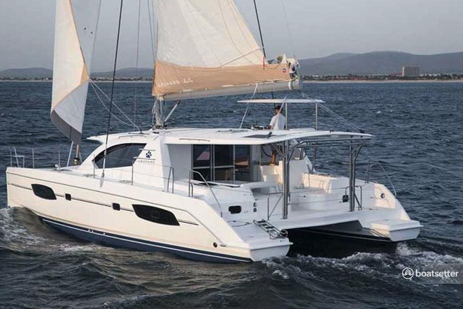 Rent a Leopard catamaran in Key West, FL near me