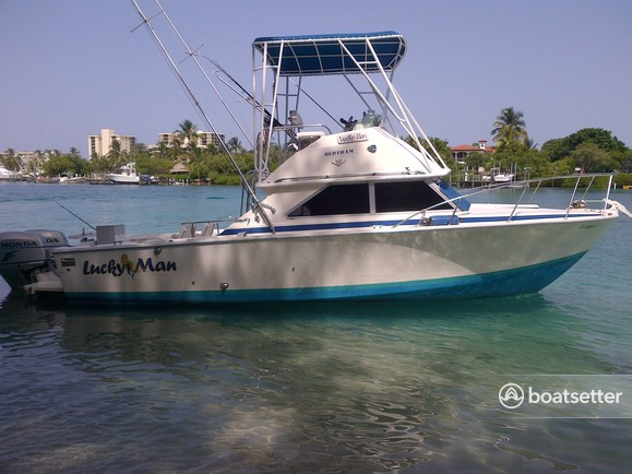 Rent a Bertram Yacht offshore sport fishing in Palm City, FL near me