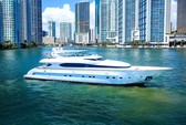 103 ft. Maiora Yachts Motor Yacht Boat Rental Miami Image 2
