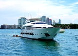 103 ft. Maiora Yachts Motor Yacht Boat Rental Miami Image 9