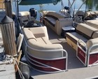 24 ft. Sun Tracker by Tracker Marine Party Barge 24 DLX w/150ELPT 4-S Pontoon Boat Rental Miami Image 1