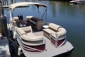 24 ft. Sun Tracker by Tracker Marine Party Barge 24 DLX w/150ELPT 4-S Pontoon Boat Rental Miami Image 3