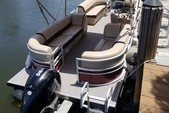 24 ft. Sun Tracker by Tracker Marine Party Barge 24 DLX w/150ELPT 4-S Pontoon Boat Rental Miami Image 4