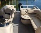 26 ft. Sun Tracker by Tracker Marine Party Barge 24 DLX w/90ELPT 4-S Pontoon Boat Rental Miami Image 2