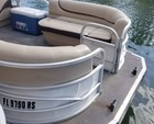 26 ft. Sun Tracker by Tracker Marine Party Barge 24 DLX w/90ELPT 4-S Pontoon Boat Rental Miami Image 3