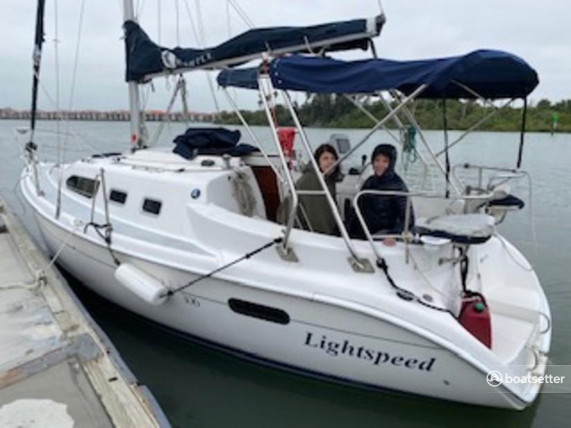 Rent a Hunter sloop in New Smyrna Beach, FL near me