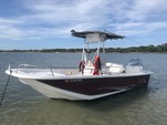 20 ft. Carolina Skiff 1965 DLX Center Console Boat Rental Jacksonville Image 1