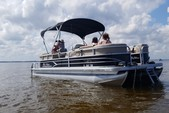 22 ft. Sun Tracker by Tracker Marine Party Barge 22 DLX w/115ELPT 4-S Pontoon Boat Rental Tampa Image 1