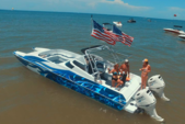 32 ft. Fast Cat  32' Performance Boat Rental Fort Myers Image 1