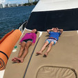 45 ft. Sea Ray Boats 44 Sedan Bridge Cruiser Boat Rental Miami Image 44