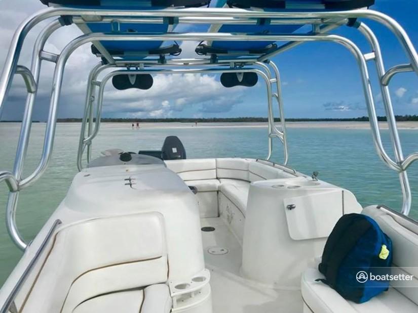 Rent a Starcraft Marine deck boat in Key West, FL near me