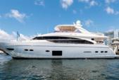 88 ft. Princess 88' Motor Yacht Boat Rental Miami Image 1