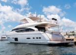 88 ft. Princess 88' Motor Yacht Boat Rental Miami Image 2