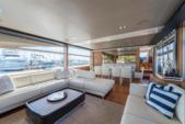 88 ft. Princess 88' Motor Yacht Boat Rental Miami Image 4