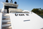90 ft. Tecnomar Cruiser Boat Rental Miami Image 1