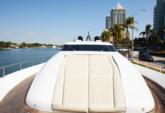 90 ft. Tecnomar Cruiser Boat Rental Miami Image 3