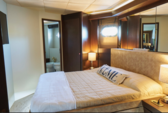 90 ft. Tecnomar Cruiser Boat Rental Miami Image 10