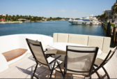 90 ft. Tecnomar Cruiser Boat Rental Miami Image 4