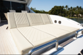 90 ft. Tecnomar Cruiser Boat Rental Miami Image 5