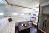 90 ft. Tecnomar Cruiser Boat Rental Miami Image 16