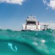 92 ft. Mangusta 92 Cruiser Boat Rental Miami Image 2