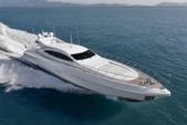 92 ft. Mangusta 92 Cruiser Boat Rental Miami Image 1